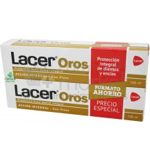 Lacer Oros Pasta dental 125 ml Duplo