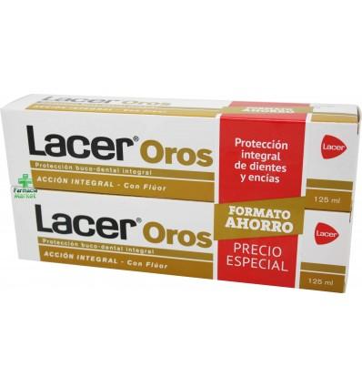 Lacer Oros Pasta dental 125 ml Duplo