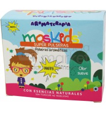 Moskids Pulseras Antimosquitos 4 unidades