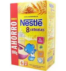 Nestle Cereales Papilla 8 cereales 900g