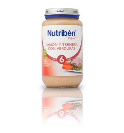 Nutriben Potito Jamon Ternera Verduras 250 g