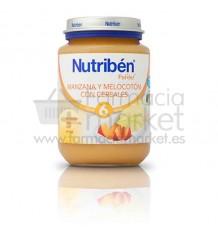 Nutriben Potito Manzana Melocoton con cereales 200 g