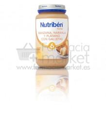 Nutriben Potito Manzana Naranja Platano Galleta 250 g