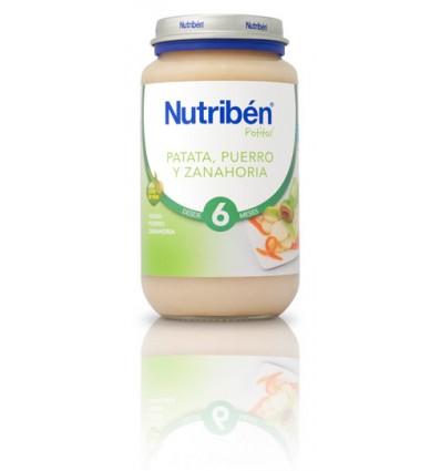 Nutriben Potito Patata Puerro Zanahoria 250 g