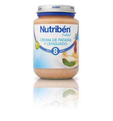 Nutriben Potito Crema de  Patatas con Lenguado 200g