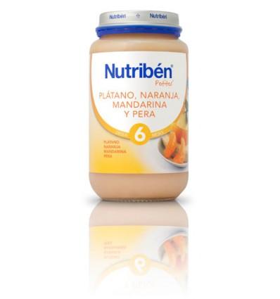 Nutriben Potito Platano Naranja Mandarina Pera 250 g