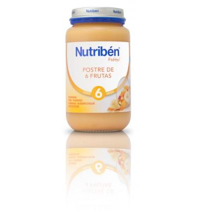 Nutriben Potito Postre 6 frutas 250 g