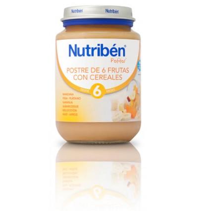 Nutriben Potito Postre 6 Frutas con Cereales 200 g