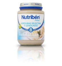 Nutriben Potito Verduras Selectas con Lenguado 200 g
