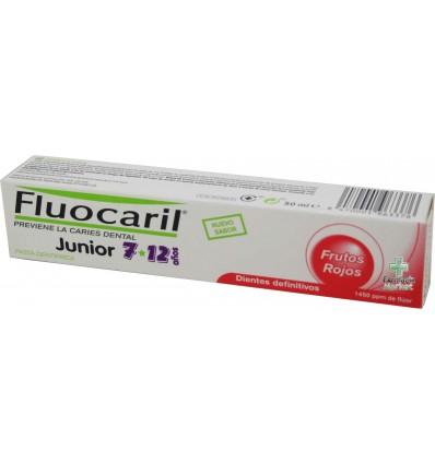 Fluocaril Pasta Dientes Junior Frutos Rojos 50 ml