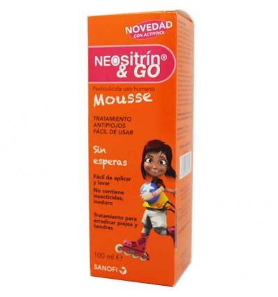 Neositrin Mousse antipiojos