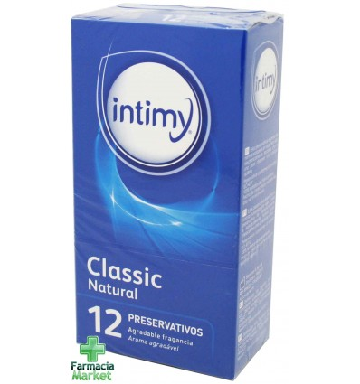 intimy preservativos classic 12 unidades