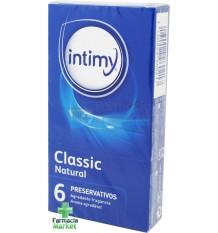 Intimy Preservativos Classic Natural 6 unidades