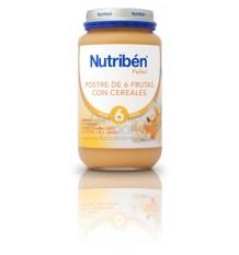 Nutriben Potito Postre 6 Frutas con Cereales 250 g