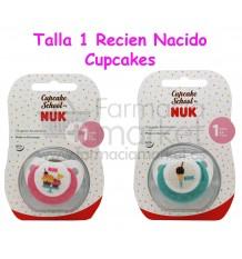 Nuk Chupete Latex Cupcakes T1