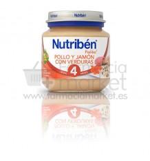 Nutriben Potito Inicio Pollo Jamon Verduras 130 g