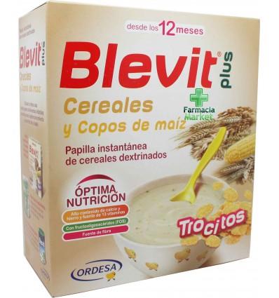 Blevit Plus Cereales Trocitos Copos de Maiz 600 g