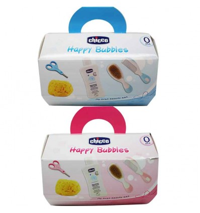 Chicco Set de Higiene Happy Bubbles