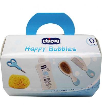 Chicco set higiene bebe azul nino