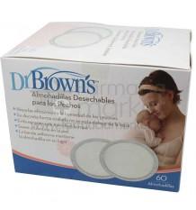 Dr Browns Discos Absorbentes 60 unidades