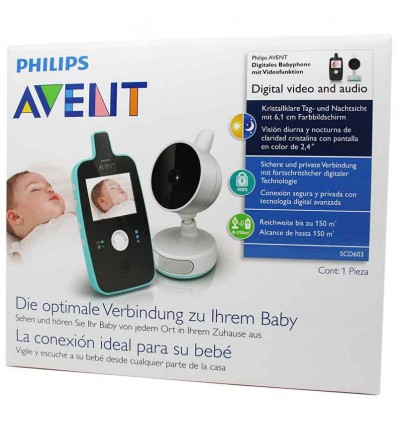 Avent Philips Digital Video and Audio SCD603