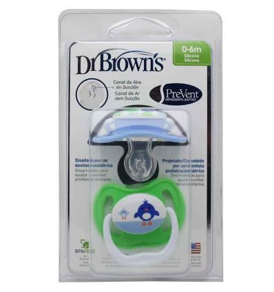 Dr browns Chupete Ortodontico Recien nacido Azul