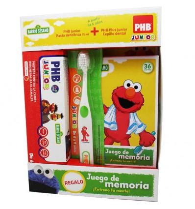 Phb cepillo Junior pack cartas memoria