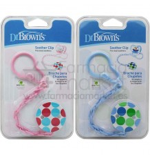 Dr Browns Cadena Soother Clip Broche Chupete