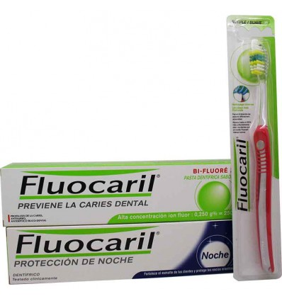 Fluocaril Pasta dental Duplo Dia noche