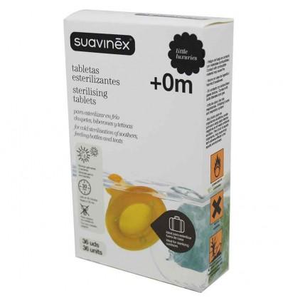 Suavinex Tabletas Esterilizantes 36 unidades