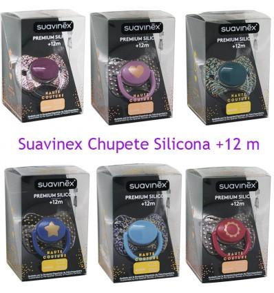 Suavinex Haute Couture Chupete Silicona 12 meses