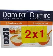 Damira Papilla 8 cereales miel 600 g Duplo Promocion