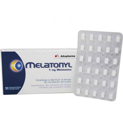 Melatonyl 1 mg melatonina 30 comprimidos