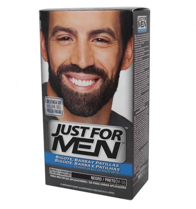 Just for Men Barba Negro M 55