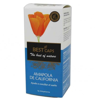 Best Caps Amapola California 80 capsulas Arkopharma