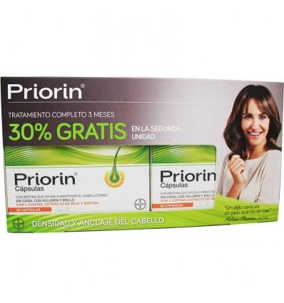 Priorin 60 capsulas duplo promocion