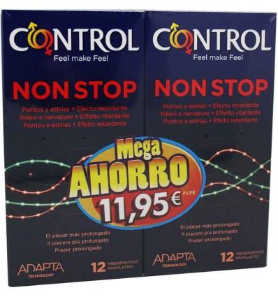 Preservativos Control Non stop Duplo Promocion