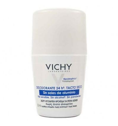 Vichy Desodorante Sin Sales de Aluminio Tacto Seco 50 ml