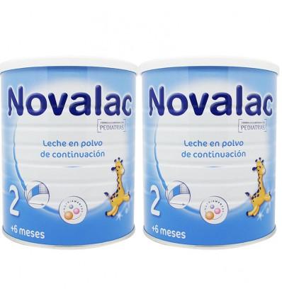 Novalac 2 continuacion 800 g Duplo Promocion