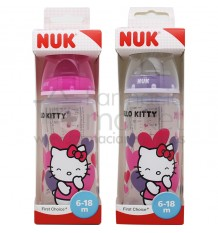 Nuk Biberon Silicona Hello Kitty 2L 300 ml