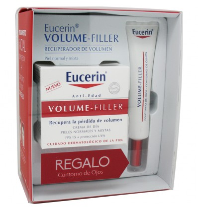 Eucerin Volume Filler Dia Normal Mixta Contorno Gratis