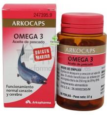 Arkocapsulas Omega 3 Aceite Pescado 50 capsulas