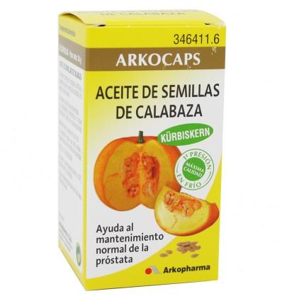 Arkocapsulas Semillas Calabaza 50 Arkocaps