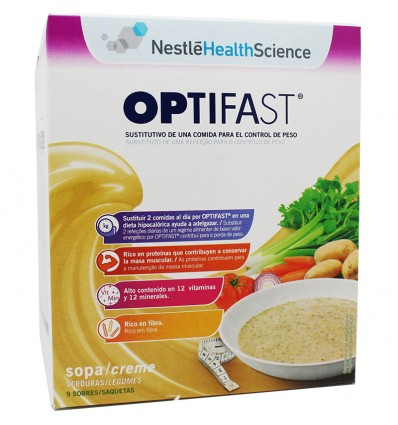Optifast Sopa de Verduras 9 Sobres