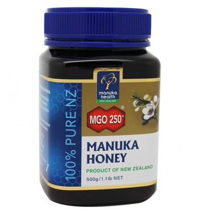Miel de Manuka Honey mgo 250 500 gramos