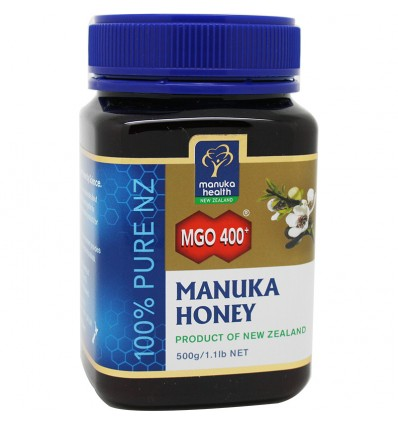 Miel de Manuka Honey mgo 400 500 gramos