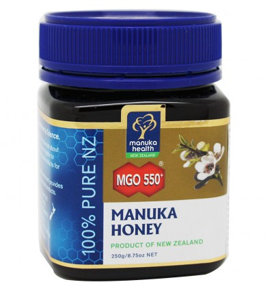 Miel de Manuka Honey mgo 550 250 gramos