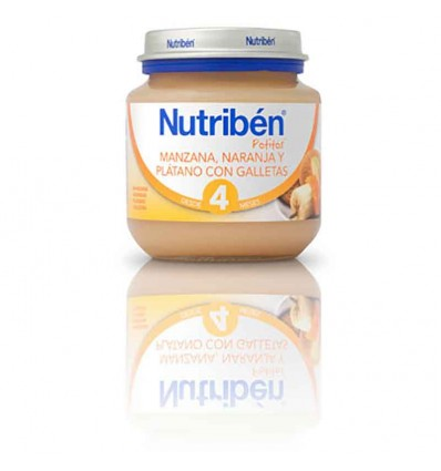 Nutriben Potito Manzana Naranja Platano Galleta 130 g