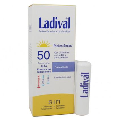 Ladival Pieles Secas 50 crema 75 ml Pack