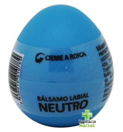 Huevo Nove Balsamo Labial Sabores Neutro